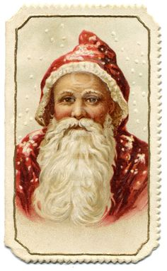 Victorian Father Christmas    Would look nice on the wall surrounded by my display of Father Christmas figurines.