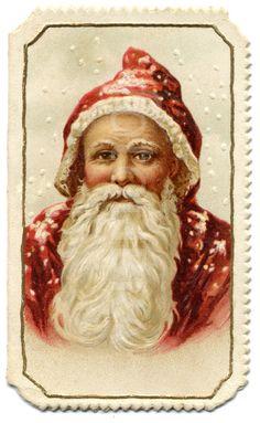 Victorian Father Christmas  #Santa