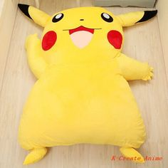 High quality PP cotton and fleece Pikachu style giant sofa bed hot sell. Description:Bed sack: 100% PolyesterInner padding: 80% Polyester, 20% CottonSize:220cm×150cm All size not include the tail and ear.Standard:Safe universal adult and children used. Accept removable and washable. Products Services: Packed:Vacuum packing 1pcs Pikachu style sofa bed packed in vacuum bag. About us: Shenzhen ...