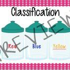 Classification Math Cards by Learning Corner | Teachers Pay Teachers