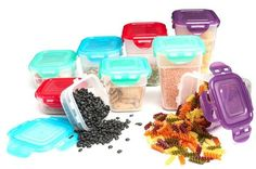 Lock & Lock 18-Piece Nestable Set, 9 Containers with Matching Lids – $10.99 (were 33.84) at sellout.woot.com