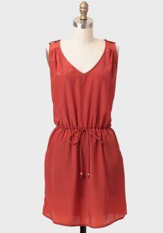 See You At Sunset Pocket Dress