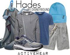 Disneybound: Activewear--Hades