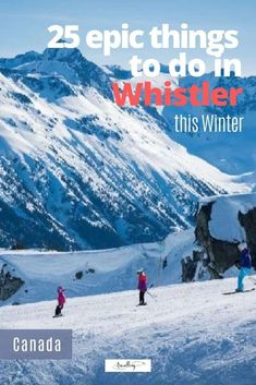 From forested light illuminations to silent spas, first class First Nations artwork to fire and ice shows, we've got the goods on 25 epic things to do in Whistler in winter. #whistler #onlyinwhistler #skiing #skitravel #wintertravel #familytravel Best Family Vacations, Family Travel, West Coast Cities, Vancouver Travel, Canadian Travel, Ski Holidays, Travel Destinations, Travel Tips, British Columbia