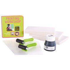 Eduplay, Druckwerkstatt, Drei Drucktechniken in einem Set | copy_220126 / EAN:04260372715414