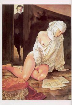 Порно магна художник мило манара разное