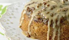 Mary Berry's Toffee Apple & Pecan Pudding
