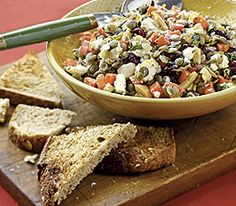 MyPanera Recipe: A Feta-Lentil Salad with Almonds and Dried Cherries