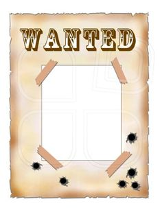 For Wild West Themed Blue and Gold photo area. a large wanted poster that the kids stand in front of. Maybe some cool crimes and a reward on it. Rodeo Crafts, Cowboy Crafts, Western Crafts, Cowboy Theme, Cowboy Party, Western Theme, Wild West Theme, Wild West Party, Wild Wild West Preschool Theme