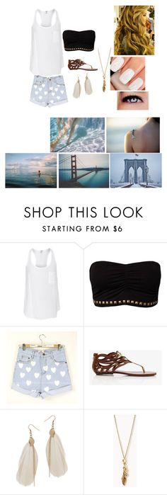 """""""Untitled #90"""" by teresahoranxx ❤ liked on Polyvore featuring Splendid, F.A.V, Forever 21, Wet Seal and Chanel"""