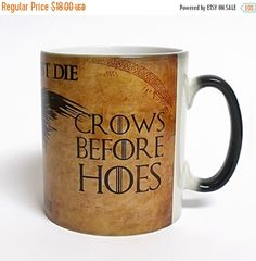ON SALE 20% OFF Game of Thrones Mug Color Changing by ArtsPrint