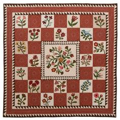Vote thru 12/15 for Morton Masterpiece. This quilt is Prairie Flowers. Made by Patricia Dews