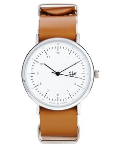 Cheapo Harold Tan Leather Strap Watch