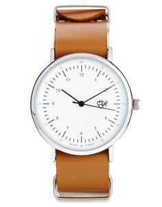Cheapo Harold Tan Leather Strap Watch