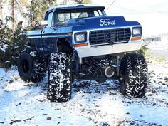 Today's Cool Car Find is this 1979 Ford Mega Truck – RacingJunk News Big Ford Trucks, 1979 Ford Truck, Ford Ranger Truck, Classic Ford Trucks, 4x4 Trucks, Car Ford, Diesel Trucks, Lifted Trucks, Lifted Chevy