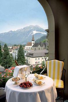 Lindner Grand Hotel Beau Rivage in Interlaken (Schweiz) einfach günstiger buchen - my favorite hotel in the world!!!
