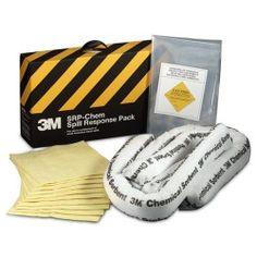 3M Chemical Sorbent Spill Response Pack SRP-CHEM - 3 pack