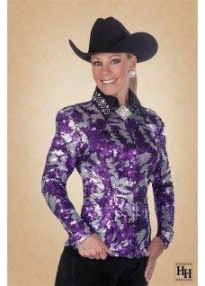 Jager Show Jacket - Purple