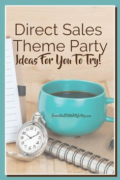 Direct Sales Theme Party Ideas For You To Try!  Online theme parties provide your hostess a great way to share your product - without the fuss!  In this post,  you get many direct sales theme party ideas. #directsales #doterra #empowersocial Direct Sales Companies, Direct Sales Tips, Theme Parties, Party Themes, Home Based Business, Business Tips, How To Start A Blog, How To Make Money, Online Themes