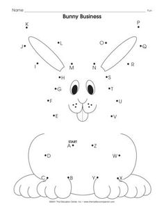 ABC Penguin dot to dot activity available at www