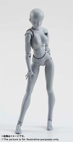 S.H.Figuarts ボディちゃん DX SET (Gray Color Ver.) | 魂ウェブ