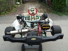 Tony Kart Venox Biland Sa 250 Go Kart Frame, Kart Racing, 3rd Wheel, Karting, F1, Cool Cars, Cart, Wheels, Bike