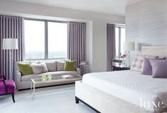bedrooms,interiors,interior design,luxe50 Bedrooms with Pops of Color | Luxe
