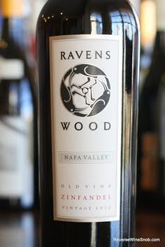 Ravenswood Napa Valley Old Vine Zinfandel 2010 - Bold Without Being Bombastic. BULK BUY! $12  http://www.reversewinesnob.com/2012/12/ravenswood-napa-valley-old-vine-zinfandel.html