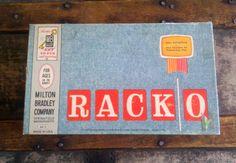 RACK O / Milton Bradley / 1960s Game by Lauralous on Etsy, $5.00