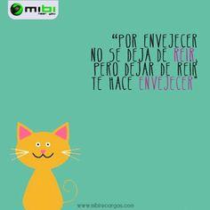 Dejar de reír te hace envejecer...  En Mibi queremos que sonrías, motivarte a que consigas todo lo que deseas y hacerte la vida más fácil. Conócenos! www.mibirecargas.com Mibi, Near you!