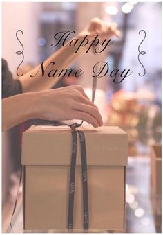 Happy name day Happy Name Day Wishes, Happy B Day, Happy Birthday Name, Birthday Greetings, Happy Names, Happy Fresh, Thankful And Blessed, Happy Moments, Christmas Time