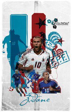 Zidane by fastlane_design, via Flickr #France