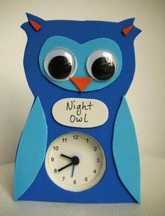 Dress up a simple alarm clock, this would be perfect for a child's room.
