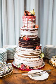 Five tier wedding cake: Emotional + Heartfelt Wedding Planned in Just 2 Weeks