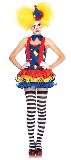 Polka Dot Clown Bag Circus Costume Fancy Dress Party Jester Clown Accessory