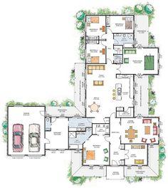Metricon Bordeaux 40 House Plans Pinterest Home