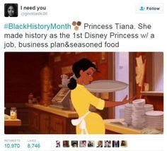 Tiana is definitely my favourite Disney princess Black Power, Black Girls Rock, Black Girl Magic, Pixar, Alternative Energie, Princesa Tiana, Guter Rat, Disney Love, Walt Disney