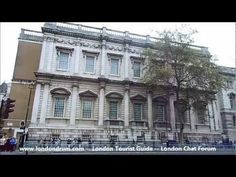 Short video showing Banqueting House in London, from http://www.londondrum.com/cityguide/banqueting-house.php