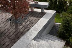 Terrassenanlage mit Pool am Hang - Stone Group AG Sidewalk, Stone, Natural Stones, Porches, Rock, Side Walkway, Sidewalks, Rocks, Pavement