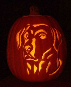 Man's Best Friend Pumpkin