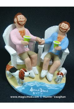 Gay's Wedding Cake Toppers | Gay Wedding Cake Toppers Custom Made