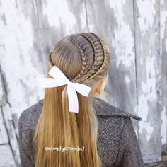 Today we did 3 lace braids on the right, and a rope twist on the left. ❤️❤️ { Inspired by @abellasbraids } Happy Sunday! #braids #braidphotos #braidsforgirls #braidsforlittlegirls #braidstyles #braidtrends #cutegirlshairstyles #girlhair #girlhairstyles #hairstyles #hairinspiration #hairstylesforgirls #hairstyles_for_girls #littlegirlhairstyles #cutehair #cutehairstyles #toddlerhair #toddlerhairstyles #lacebraid #lacebraids #hotbraidsmara #thebraidpage #cghphotofeature