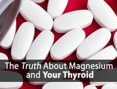 Hypothyroidism Diet - Why You Shouldn't Just Use Magnesium Supplements with Hypothyroidism (Do This Instead) Thyrotropin levels and risk of fatal coronary heart disease: the HUNT study. Hypothyroidism Diet, Thyroid Diet, Thyroid Issues, Thyroid Disease, Thyroid Health, Heart Disease, Thyroid Problems, Autoimmune Disease, Thyroid Gland