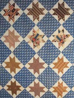 Civil War Quilts: Stars in a Time Warp 15: Woven Plaids