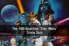 The 100-Question 'Star Wars' Trivia Quiz || 89/100 for me. Would you be surprised if I said almost all of my wrong answers involved Ep I, II, and III? ;) hahaha