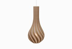 RISE, a newly designed for kitset light by David Trubridge