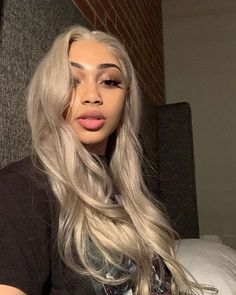 Shop our online store for blonde hair wigs for women.Blonde Wigs Lace Frontal Hair Cute Blonde Hair Colors From Our Wigs Shops,Buy The Wig Now With Big Discount. Blonde Hair Black Girls, Ash Blonde Hair, Platinum Blonde Hair, Blonde Color, Blonde Balayage, Brown Hair, Blonde Curly Wig, Blonde Weave, Ash Hair