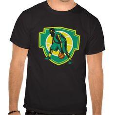 Basketball Player Dribbling Ball Woodcut Shield Re Tshirts