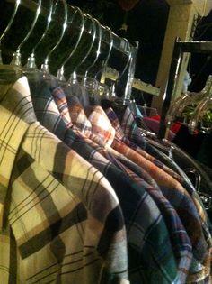 Men's #flannel #trunkshow #tomikoscloset