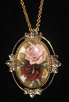 Vintage Sarah Coventry Rose Marie Cameo Necklace by RuTalCreations,  https://www.etsy.com/listing/164829804/vintage-sarah-coventry-rose-marie-cameo?